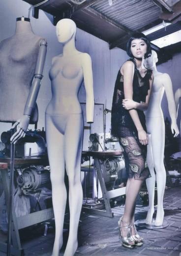 Michelle untuk Dewi edisi Novmber 2012, Fashion Spread.
