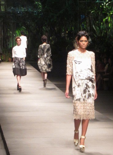 "Michelle untuk Biyan Annual Show 2012 ""Foliage"""
