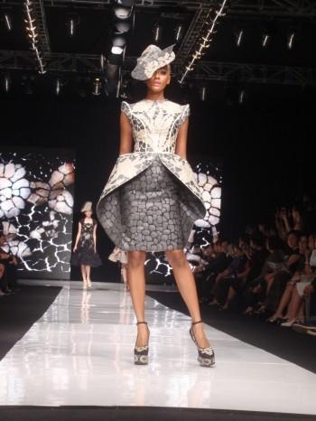 Bella Pietra by Sebastian Gunawan. Model: Kimmy Jayanti