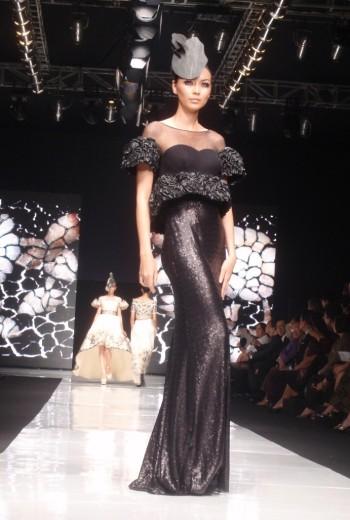 The Black Dress by Sebastian Gunawan. Model: Christina Borries