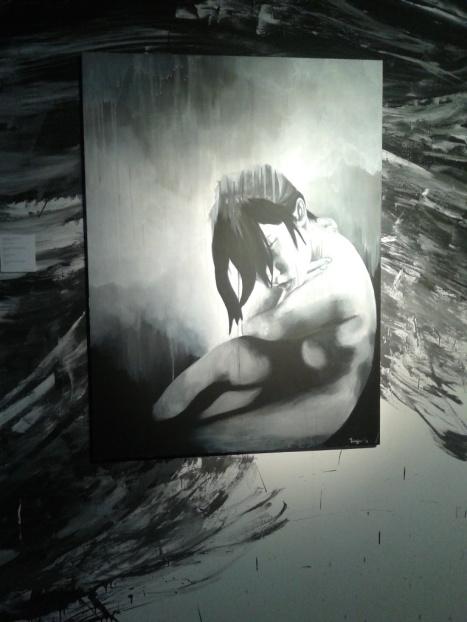 Salah satu lukisan karya Talitha Maranila.