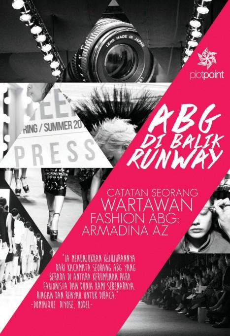 Cover Buku ABG di Balik Runway