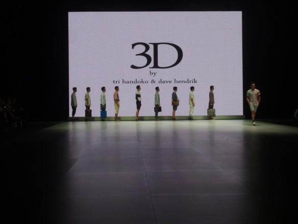 3D oleh Tri Handoko dan Dave Hendrik pada IFW 2013.