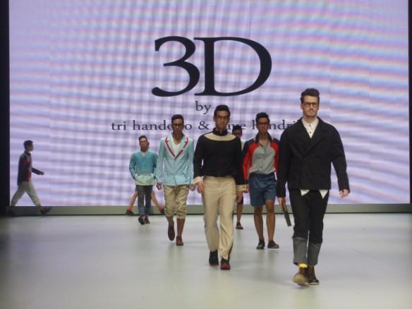 Finale 3D oleh Tri Handoko dan Dave Hendrik di IFW 2013.